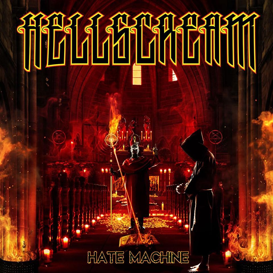 HELLSCREAM Hate Machine (2019) Heavy/Power U.S.A 66642310