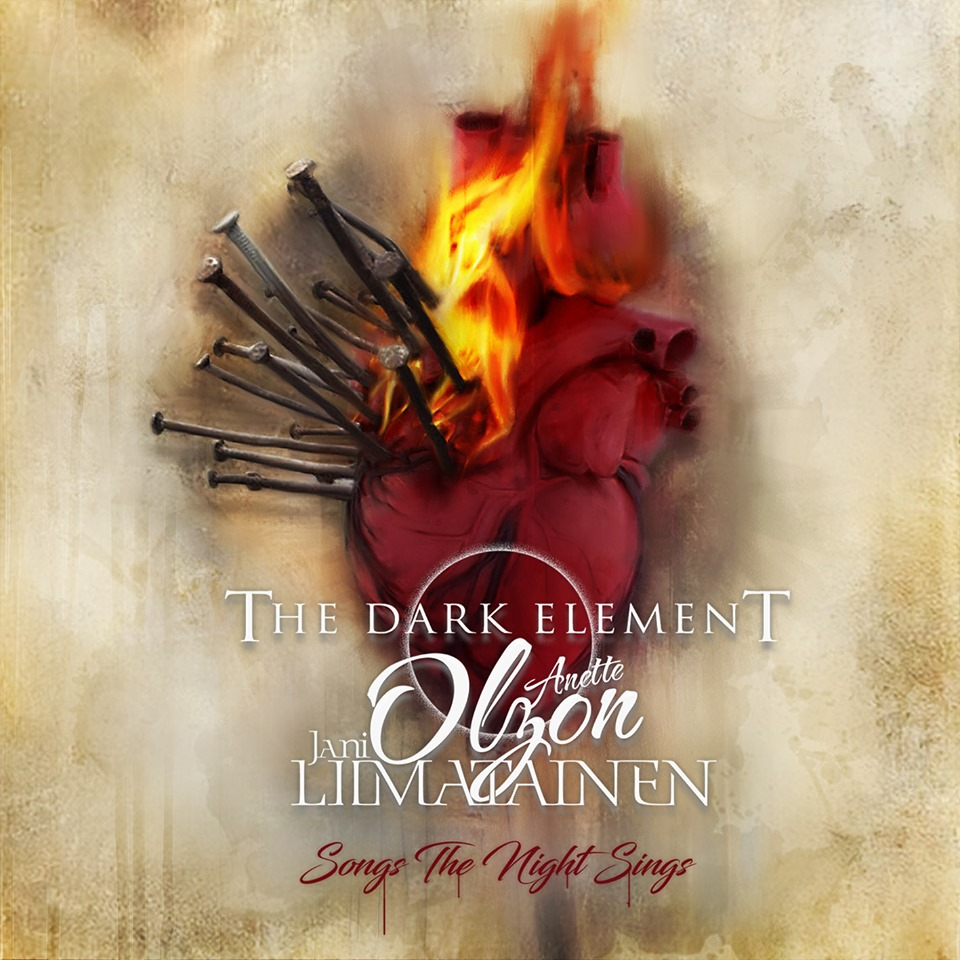 THE DARK ELEMENT  Songs The Night Sings (2019) Metal Symphonic Finlande  66775710
