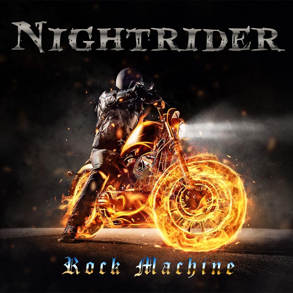 NIGHTRIDER Rock Machine (2019) Hard/Heavy U.S.A 67090210