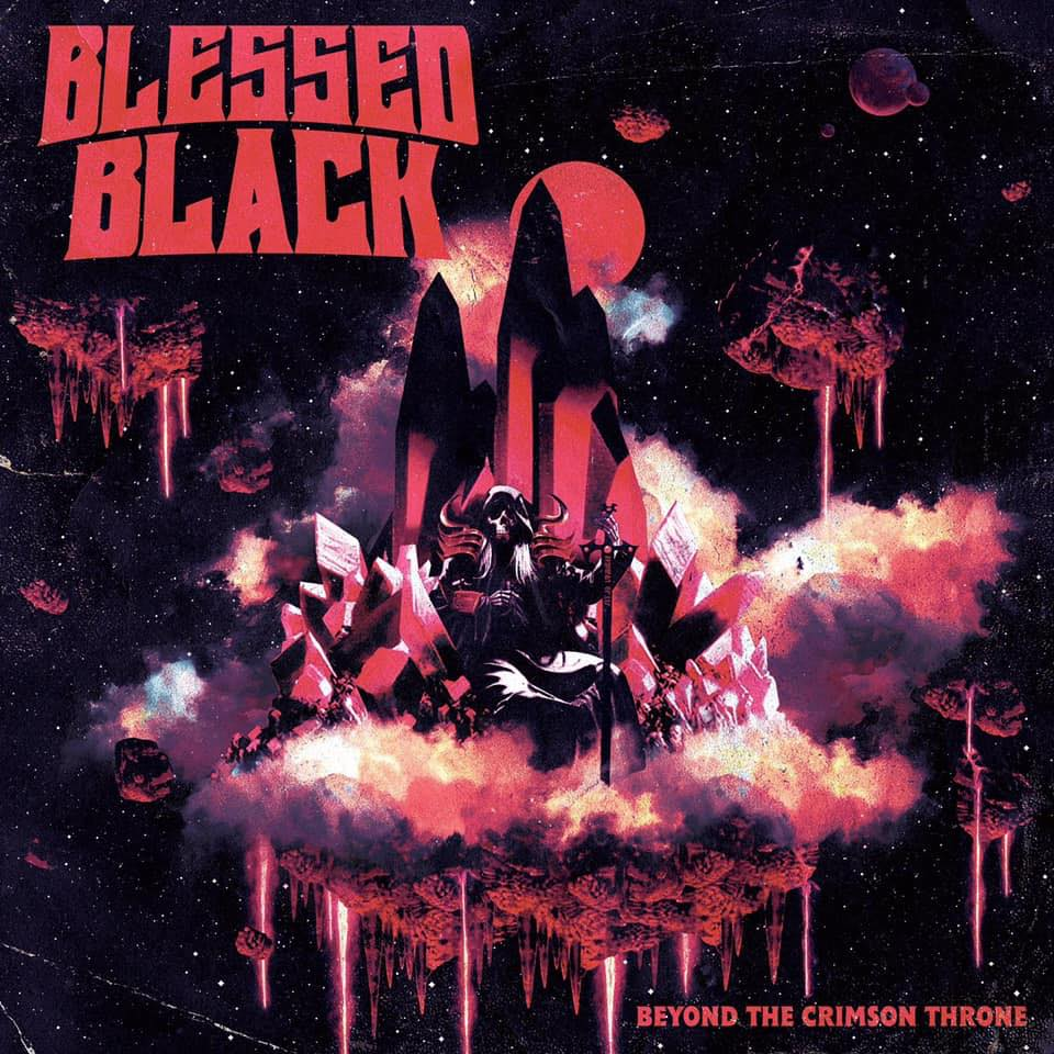 BLESSED BLACK Beyond The Crimson Throne (2020) Heavy/Doom U.S.A 67246810