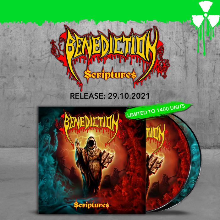 BENEDICTION Scriptures (2020) Death Metal ANGLETERRE 67665-10