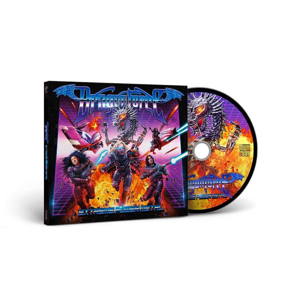 DRAGONFORCE Extreme Power Metal (2019) Power (super rapide) Metal U.K  68751110