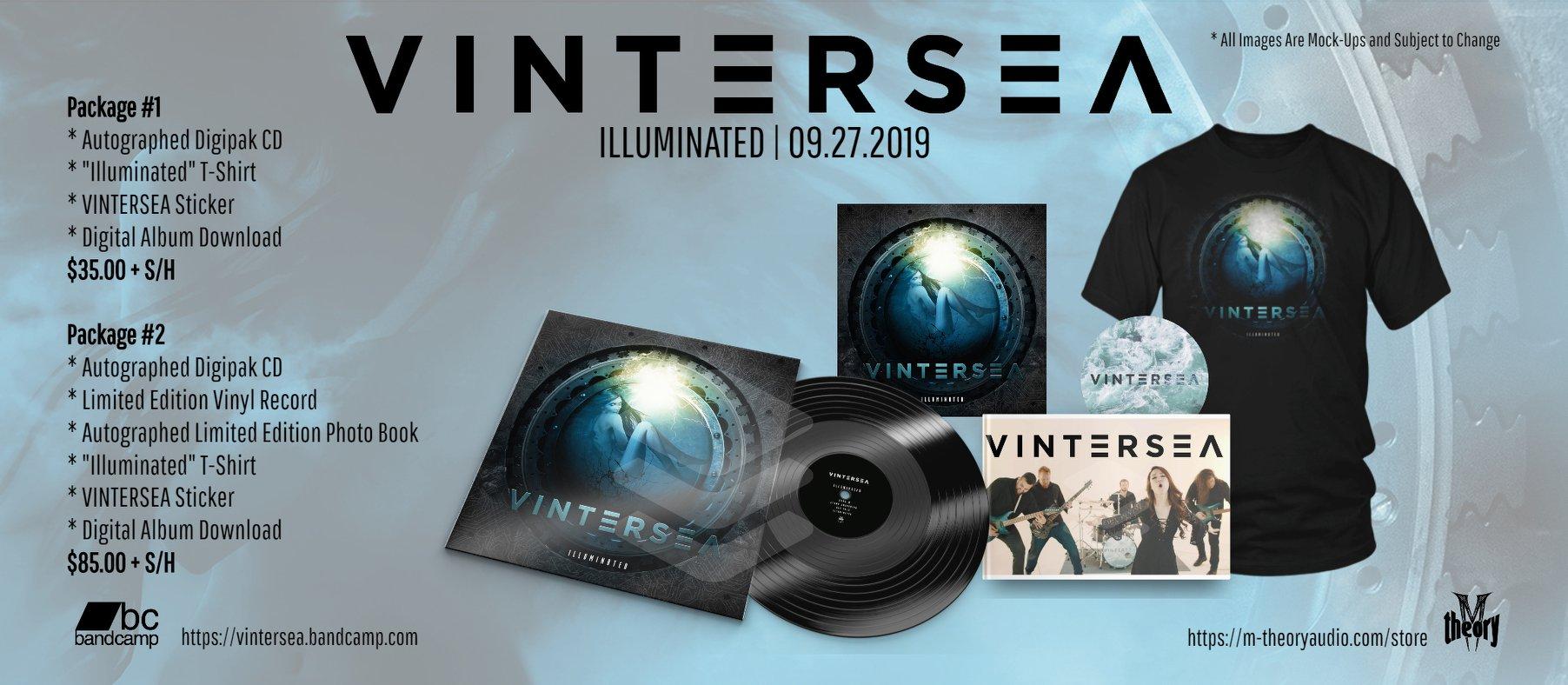 VINTERSEA Illuminated (2019) Death Prog Mélodic U.S.A 68851611