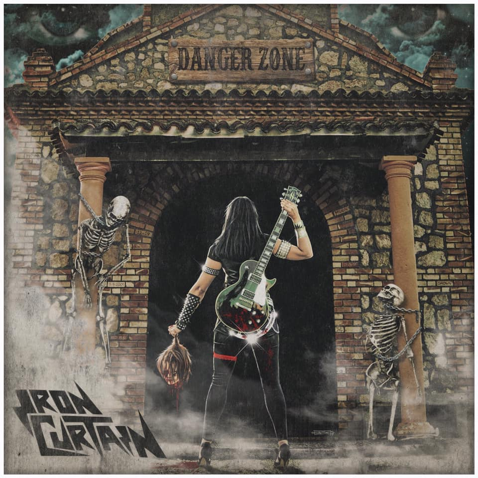 IRON CURTAIN  Danger Zone (2019) Heavy/Speed ESPAGNE 69914810