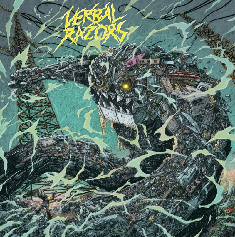 VERBAL RAZORS By Thunder and Lightning (2020) Thrash  81001911