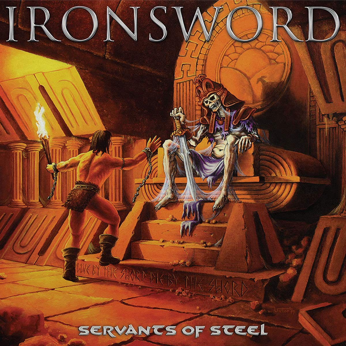 IRONSWORD Servants of Steel (2020) Heavy Metal PORTUGAL 812j2z10