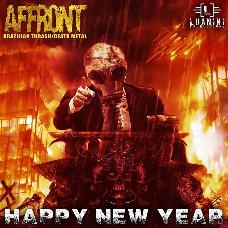 AFFRONT There´s No Tomorrow (2020) Nouveau Clip Thrash Brésil 81445010