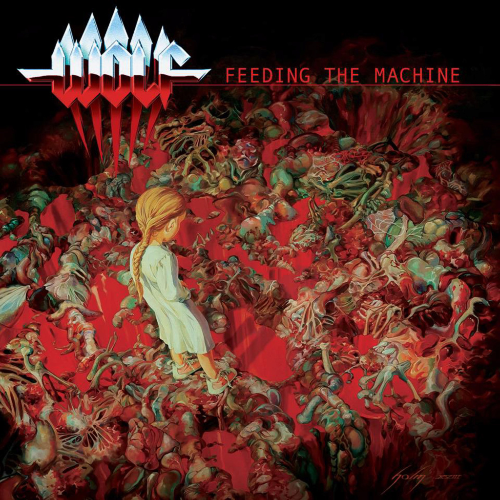 WOLF Feeding The Machine (2020) Heavy-Metal Suède 82375710