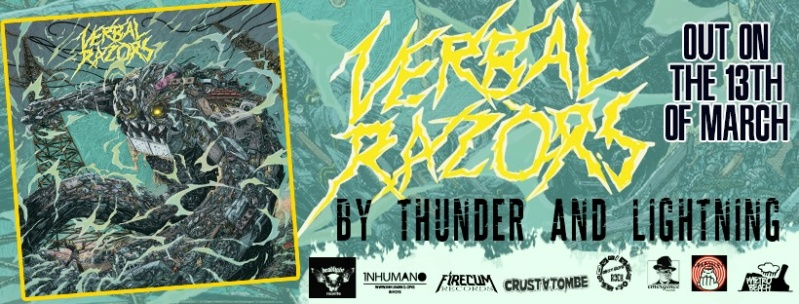 VERBAL RAZORS By Thunder and Lightning (2020) Thrash  82525710