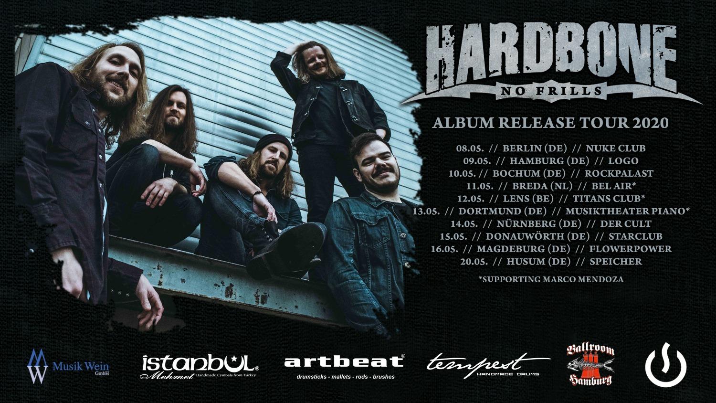 HARDBONE No Frills (2020) Hard Rock à la AC/DC Allemagne 84255310