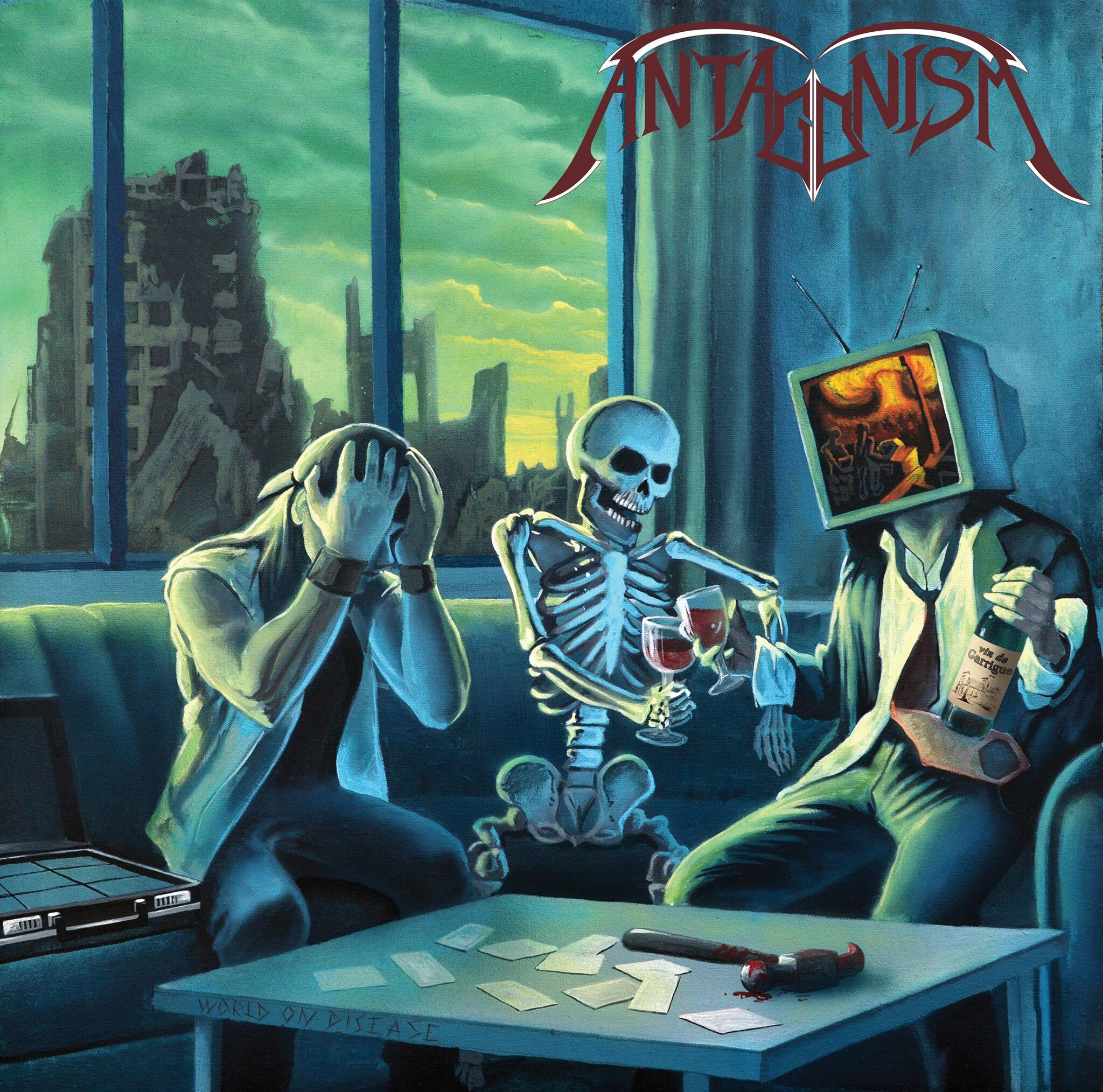 ANTAGONISM World on Disease (2020) Thrash Metal Toulon 84262310