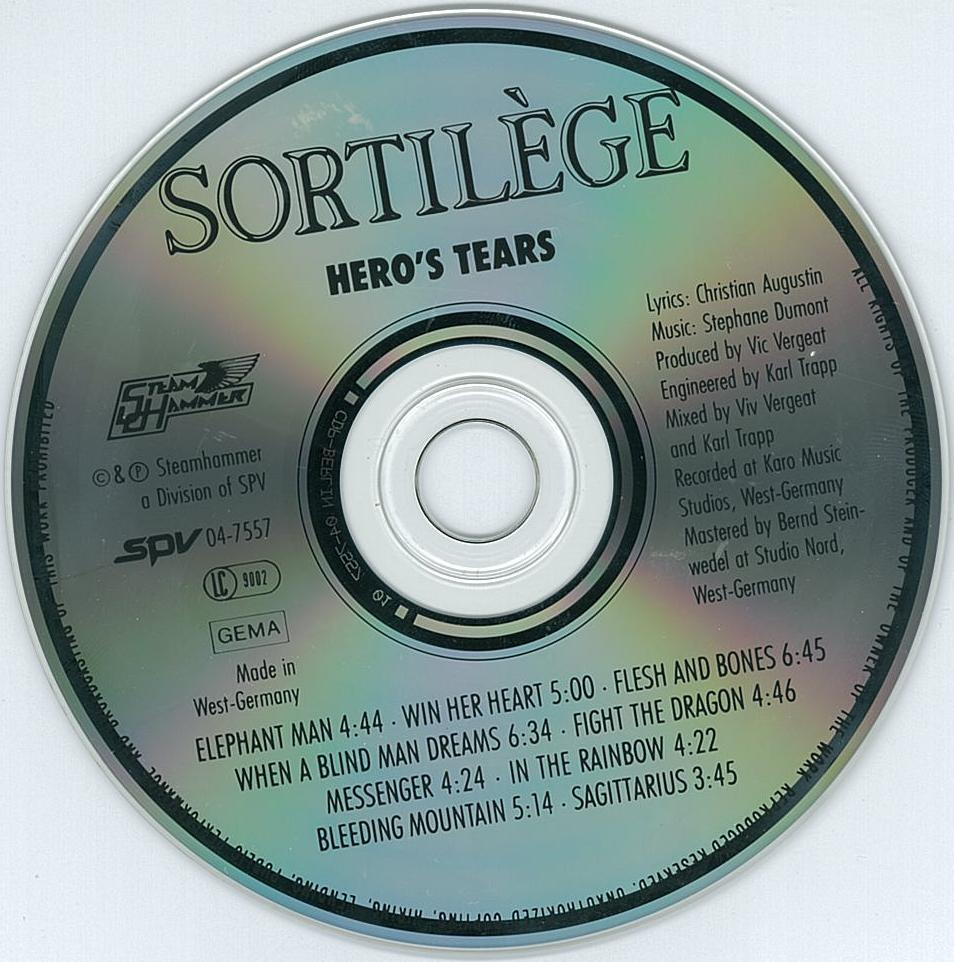 Deux éditions anciennes de SORTILEGE chez SPV ... 84a61610