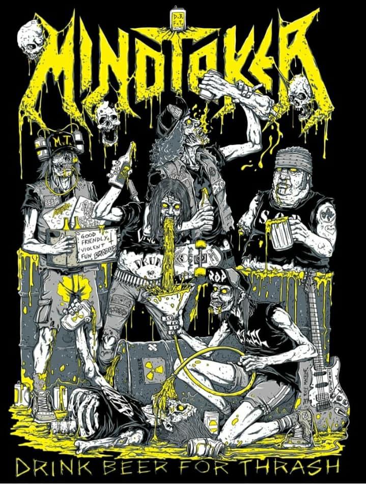 MINDTAKER Toxic War (2020) Thrash Metal PORTUGAL 85026710