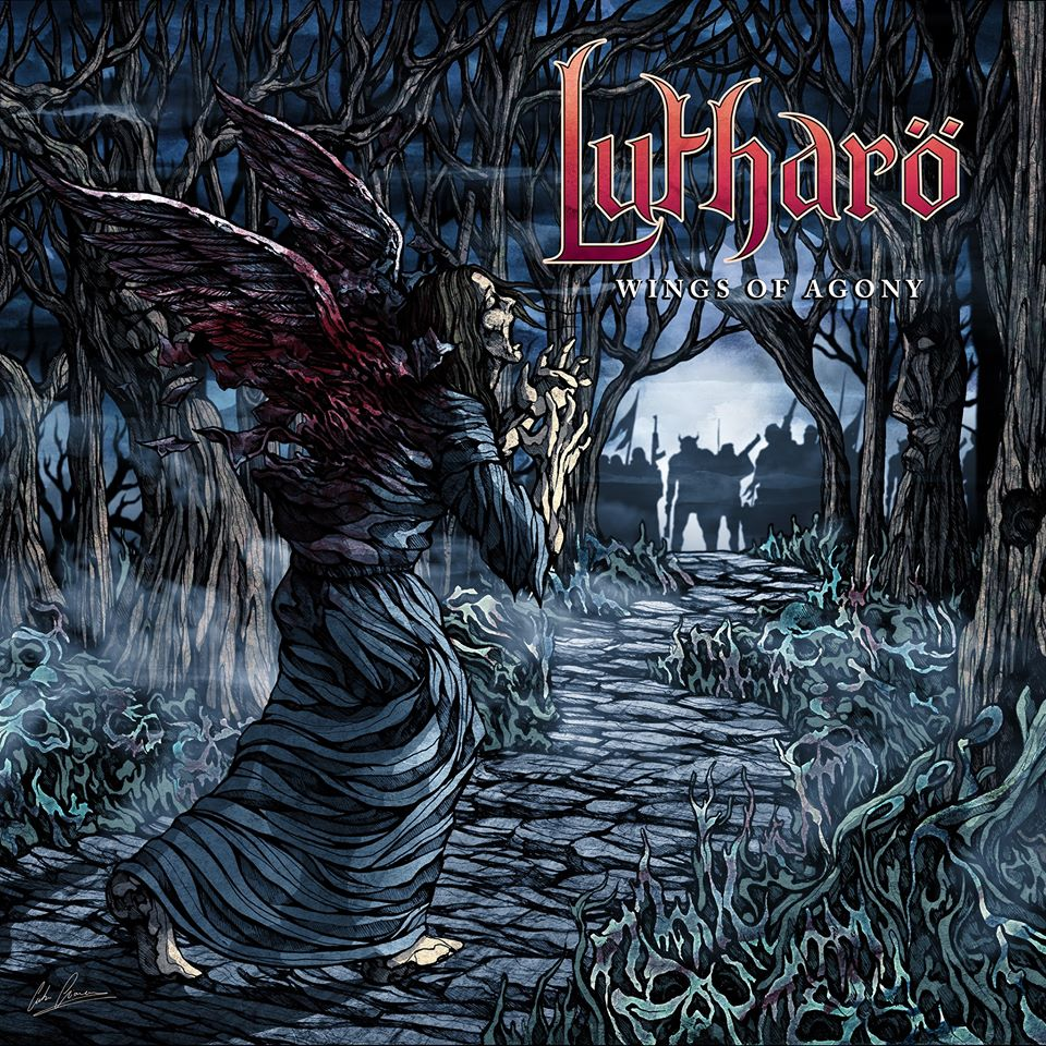 LUTHARO Wings of Agony (2020) Thrash CANADA 85153810