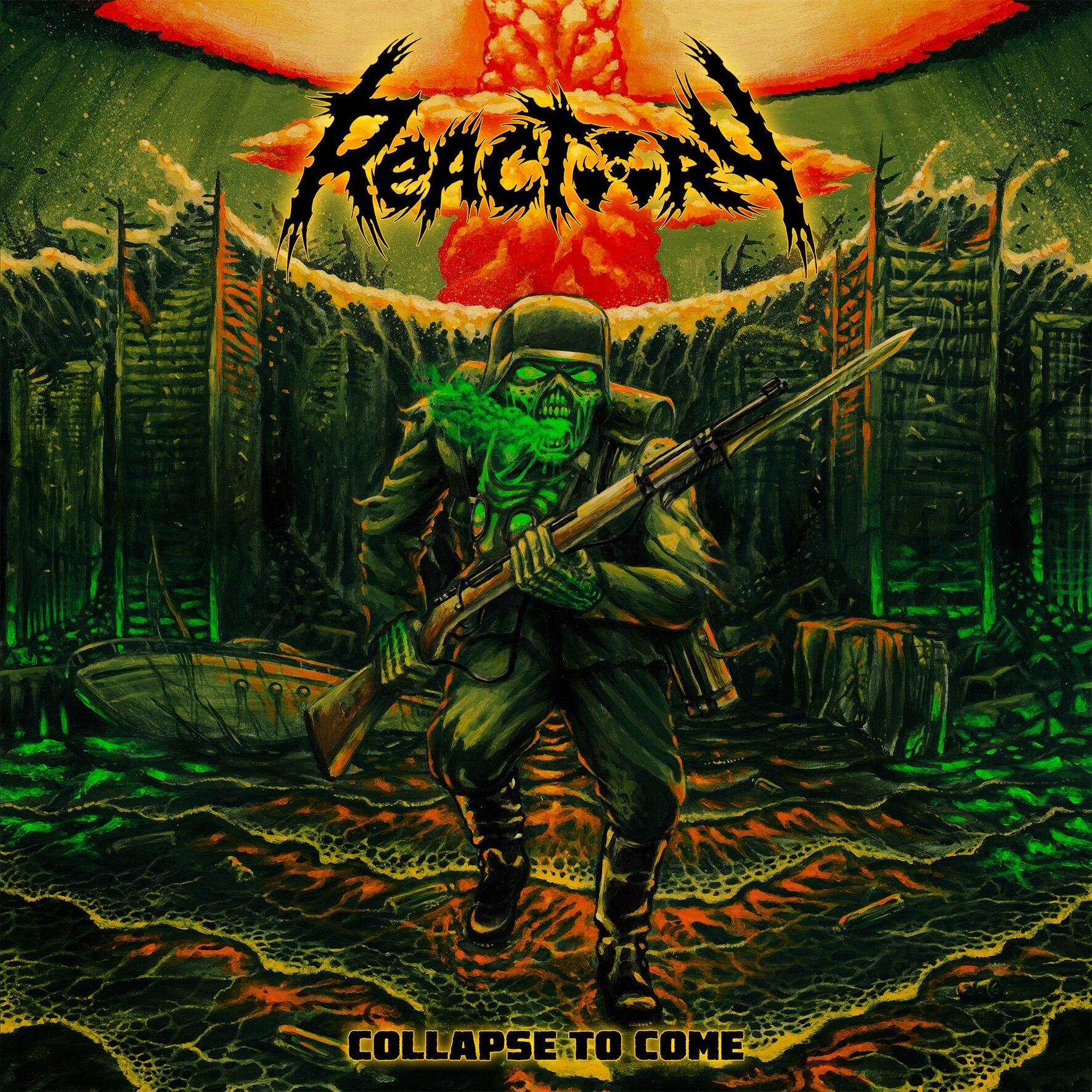 REACTORY Collapse to Come (2020) Thrash Allemagne 85158410