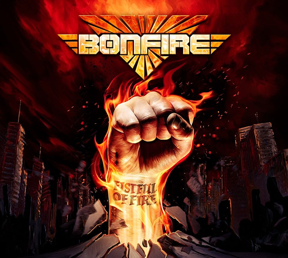 BONFIRE Fistful Of Fire (2020) Heavy Metal Allemagne 86180310