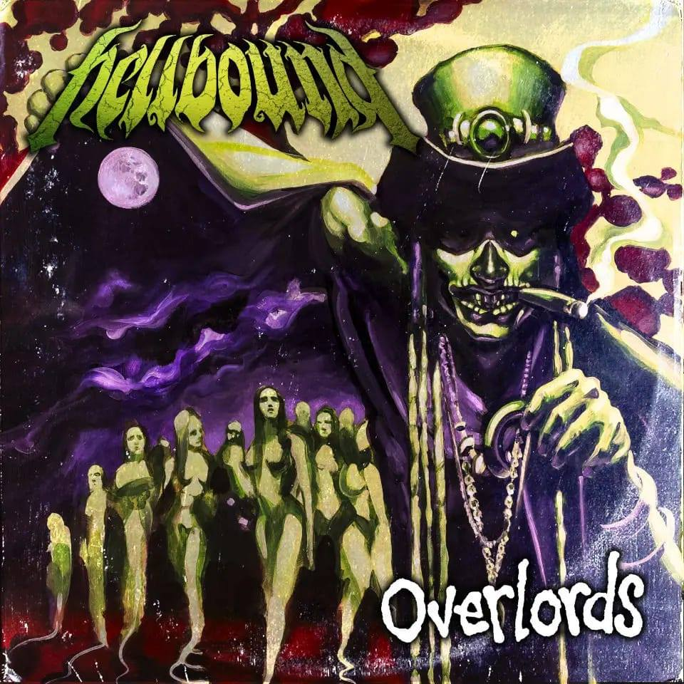 HELLBOUND Overlords (2020) Groove Metal Suède 86729910
