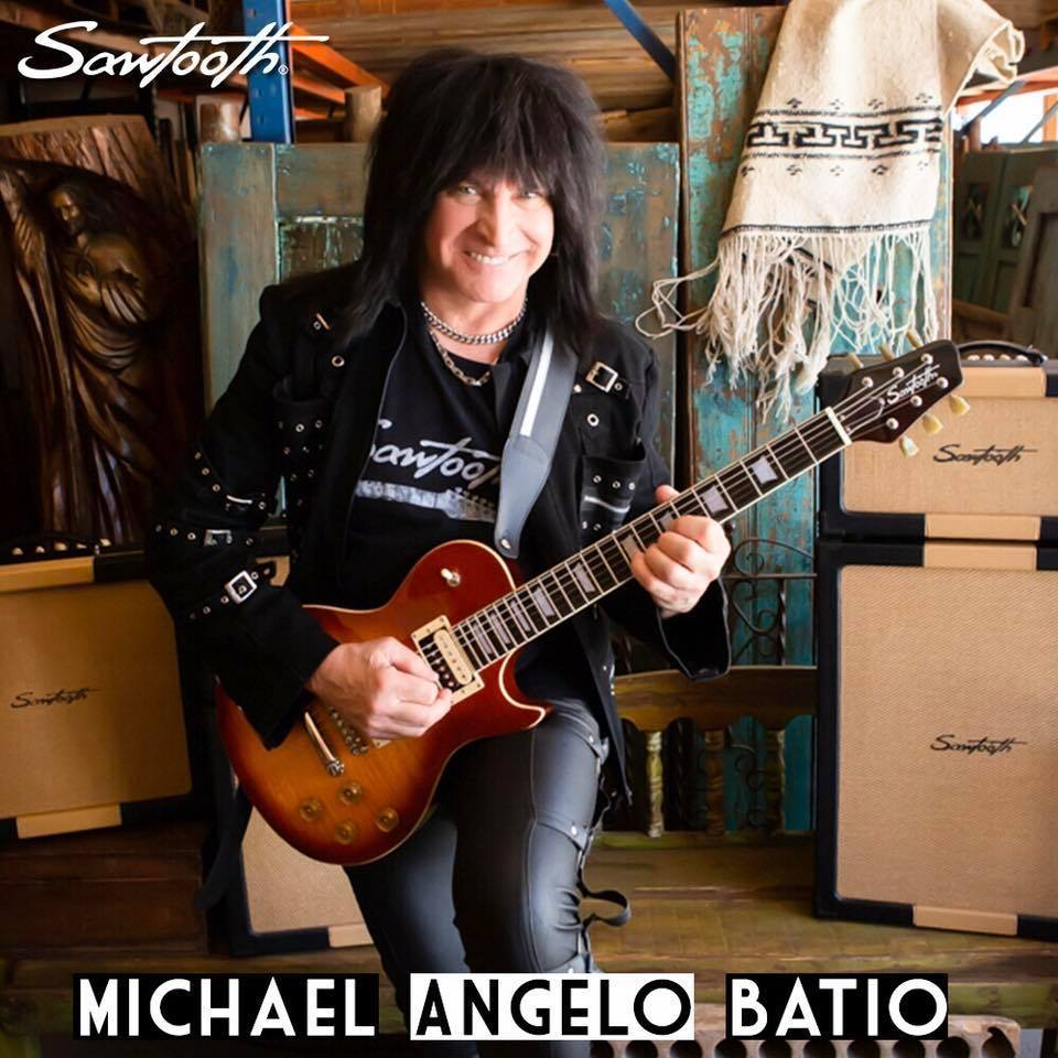 MICHAEL ANGELO BATIO More Machine Than Man (2020) Heavy Metal U.S.A 87365510