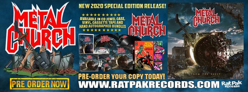 METAL CHURCH From The Vault (2020) Compilation en édition spéciale Thrash/Heavy U.S.A 87524910