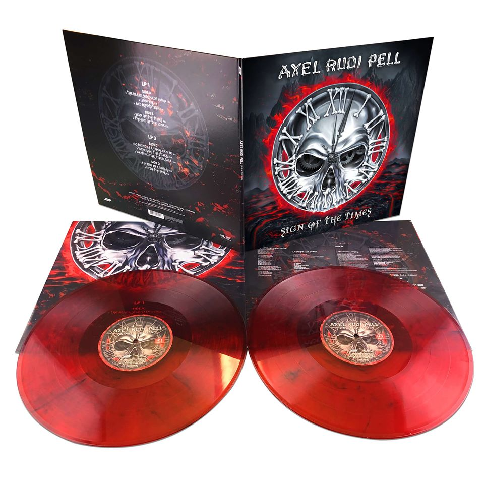 AXEL RUDY PELL Sign Of The Times (2020) Hard/Heavy International 87822610