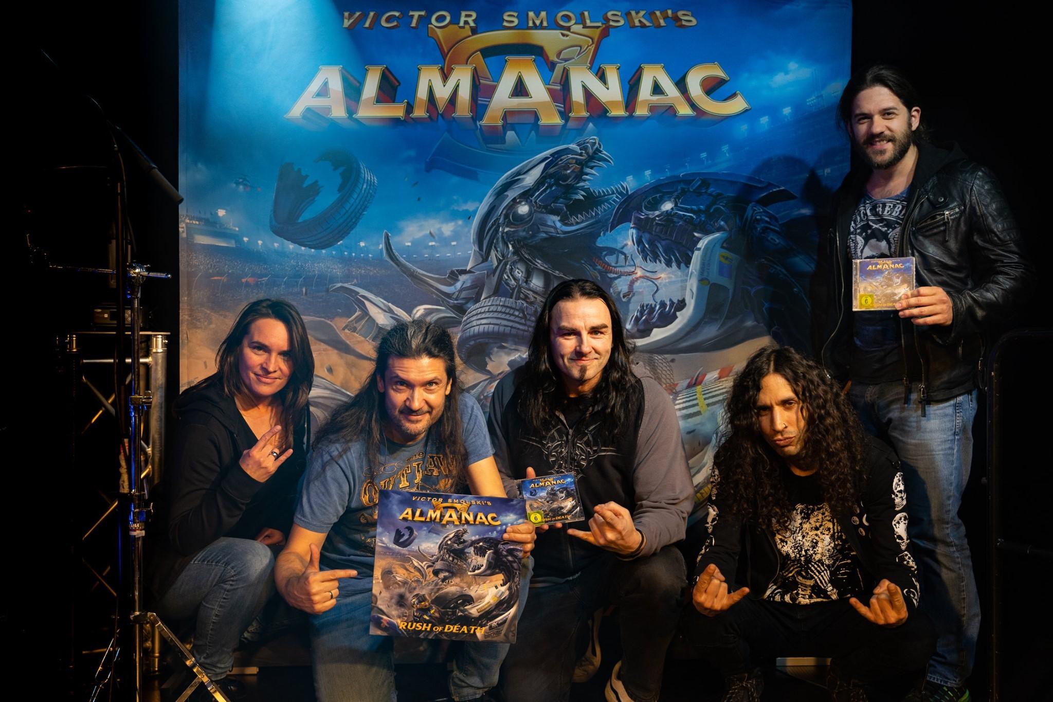 ALMANAC Rush of Death (2020) Heavy/Power ALLEMAGNE 88107810