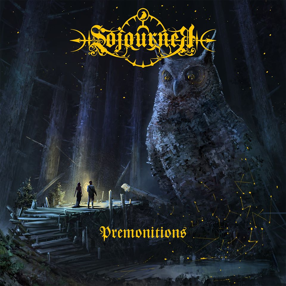 SOJOURNER Premonitions (2020) Black Atmospheric Melodic - Internationnal 88210710