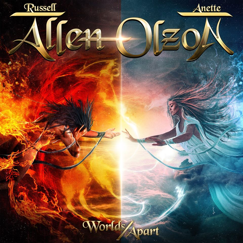 ALLEN/OLZON Worlds Apart (2020) Metal Mélodic SUEDE 88303410