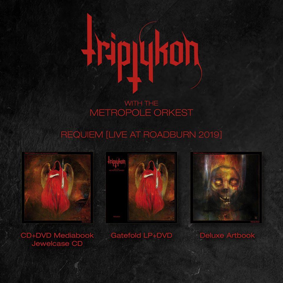 TRIPTYKON Requiem (Live At Roadburn 2019) CD + DVD (2020) Suisse  90267510