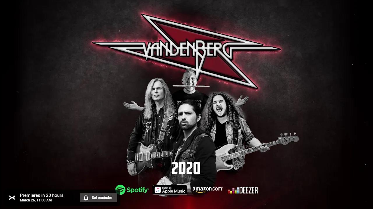 VANDENBERG 2020 (2020) Hard-Rock Hollande 90633510