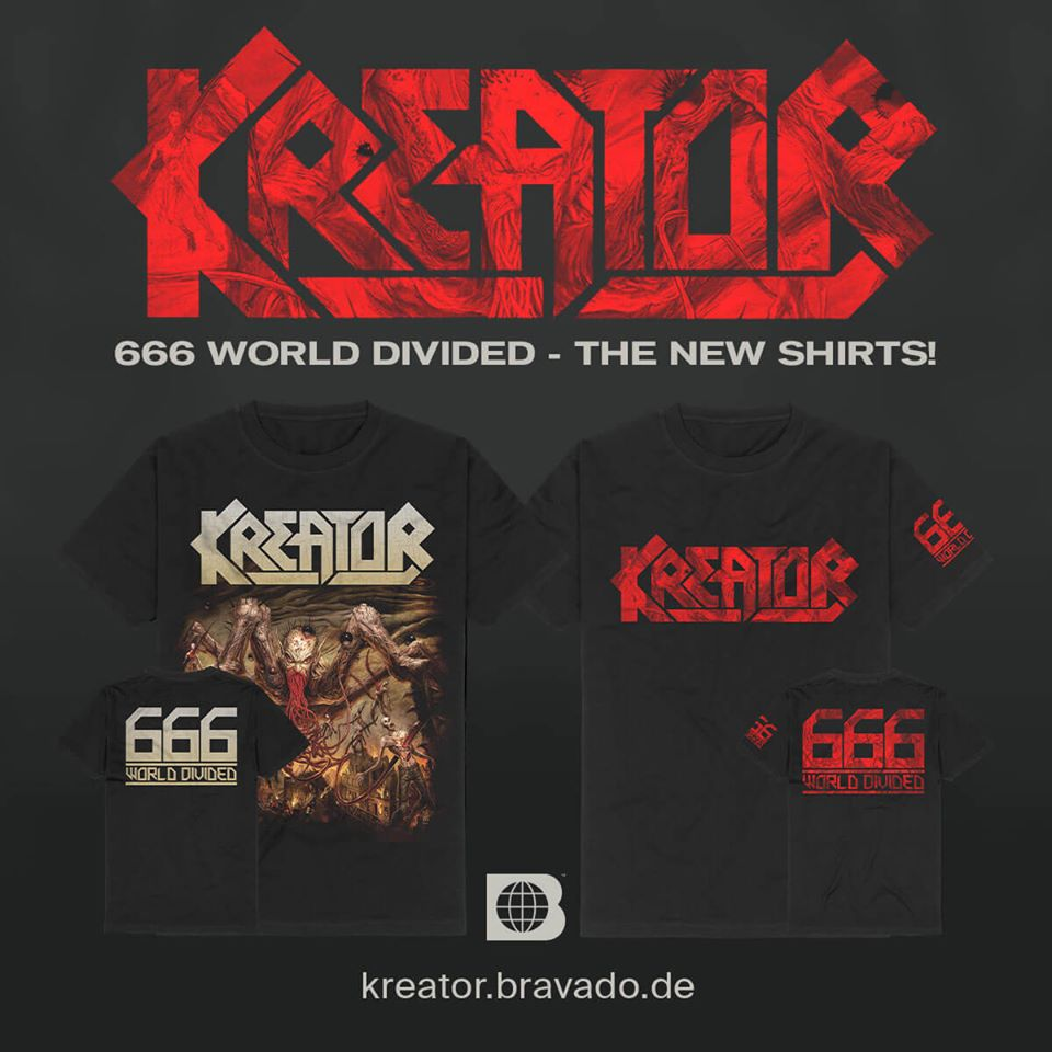 "KREATOR : un single surprise nommé ""666 - World Divided"" ! 90790010"