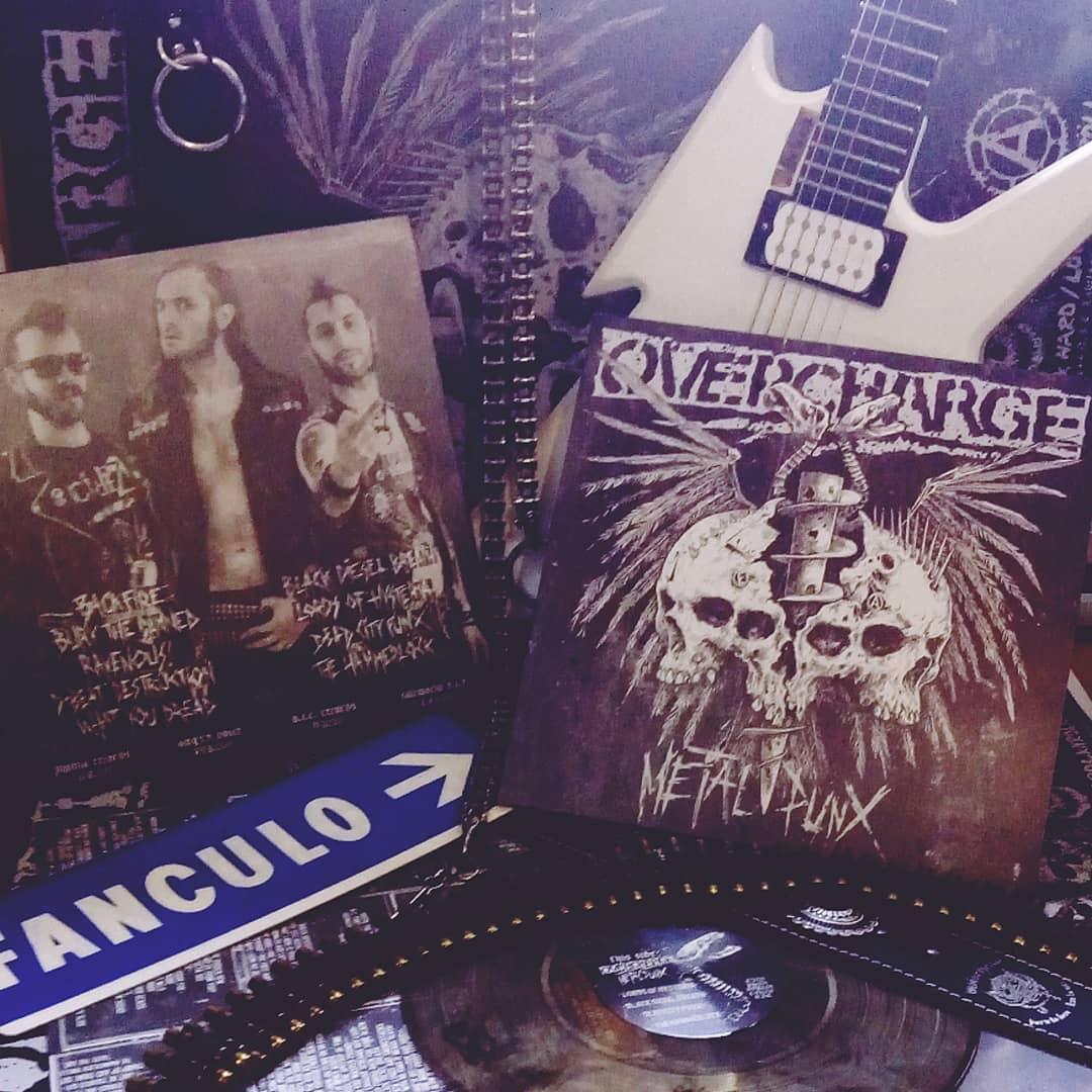 OVERCHARGE Metalpunx (2020) Metal Punk ITALIE 90790110