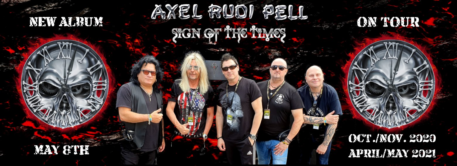 AXEL RUDY PELL Sign Of The Times (2020) Hard/Heavy International 91279510