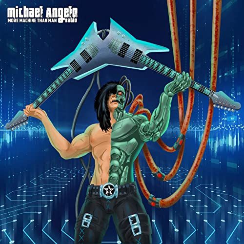 MICHAEL ANGELO BATIO More Machine Than Man (2020) Heavy Metal U.S.A 91omfh10