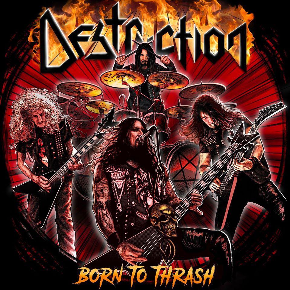 DESTRUCTION annonce un live : Born To Thrash ! Juillet 2020 ! 93273110