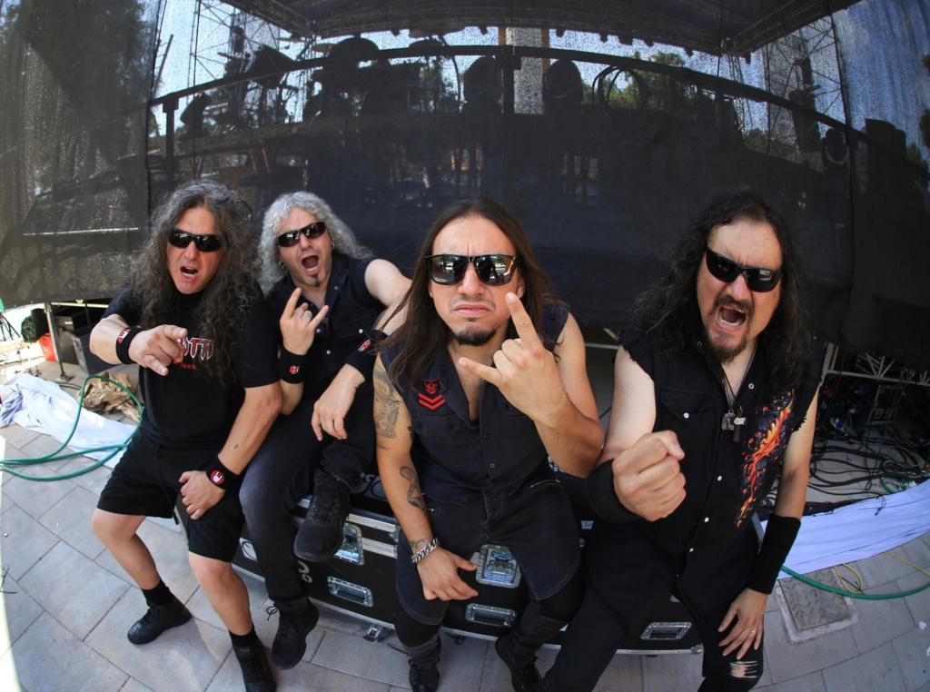 ANCILLOTTI Hell on Earth (2020) Heavy Metal ITALIE 93277910