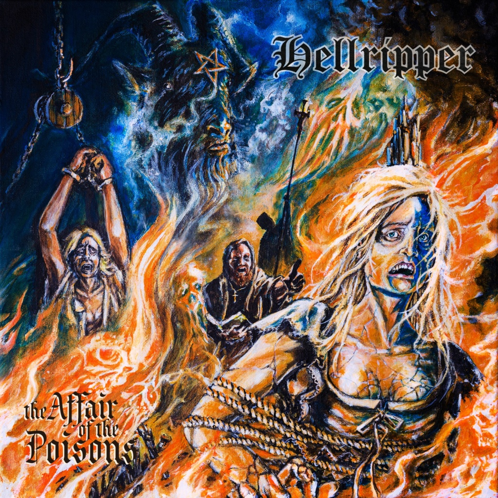 HELLRIPPER The Affair Of The Poisons (2020) Black/Speed Metal  94964010