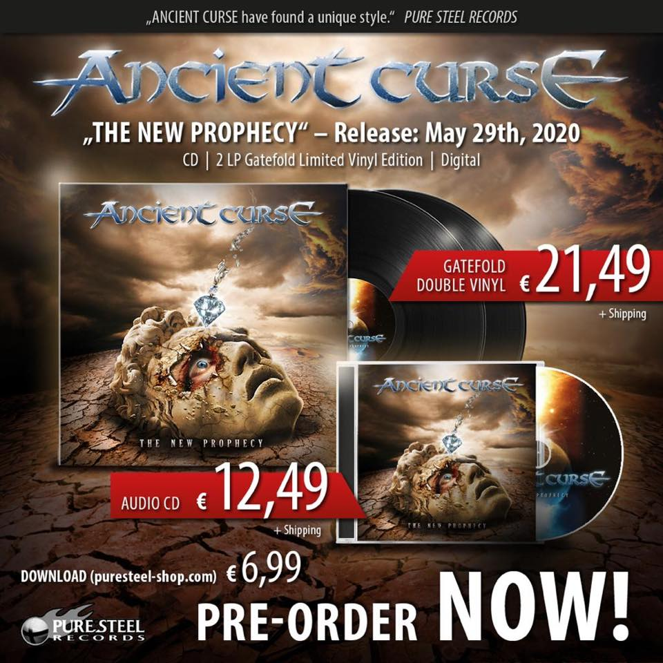 ANCIENT CURSE The New Prophecy (2020) Heavy/Speed Allemagne 96713310