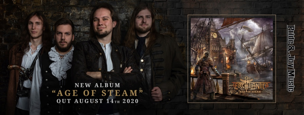 TERRA ATLANTICA Age Of Steam (2020) Power Métal Allemagne 97037910