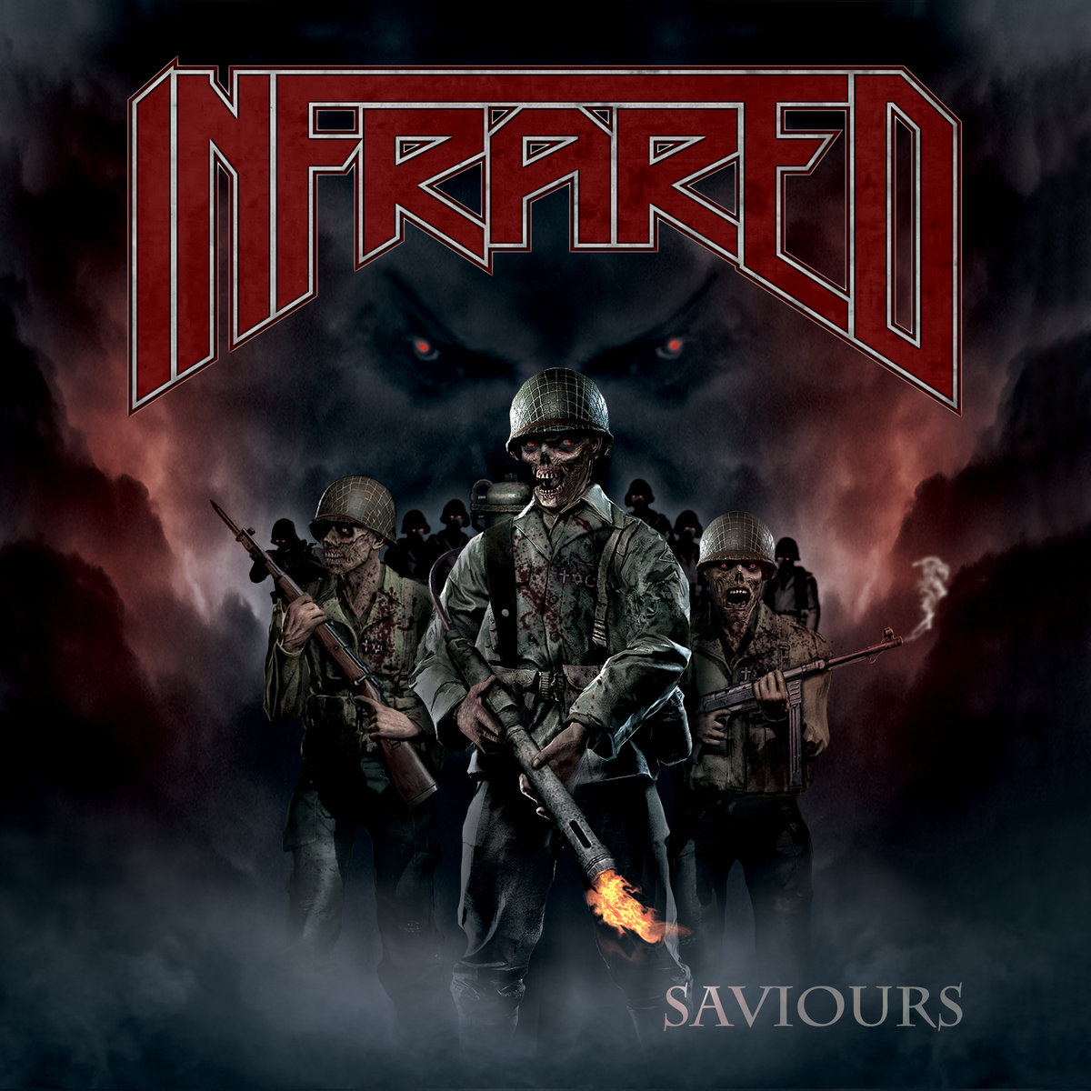 INFRARED Saviours (2018) Thrash Metal CANADA A0096610