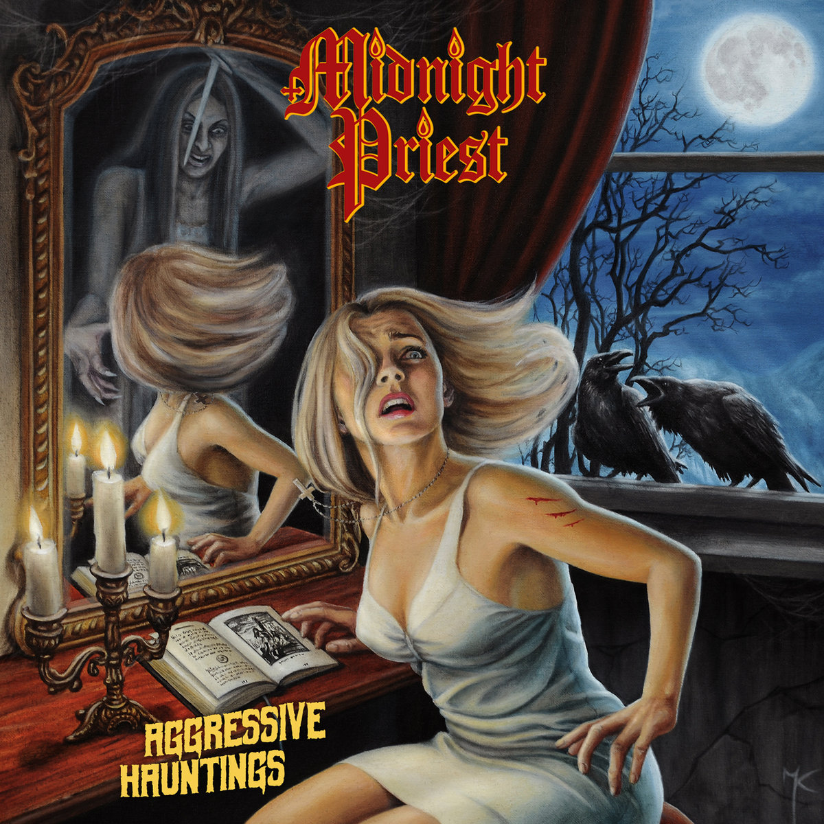 MIDNIGHT PRIEST Agressive Hauntings (2019) Heavy Metal Portugal A0838110