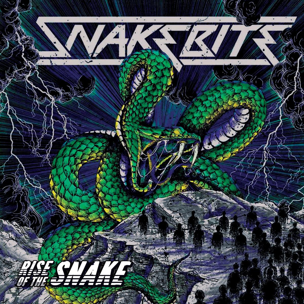 SNAKEBITE Rise Of The Snake (2018) Hard-Rock ALLEMAGNE A0962410