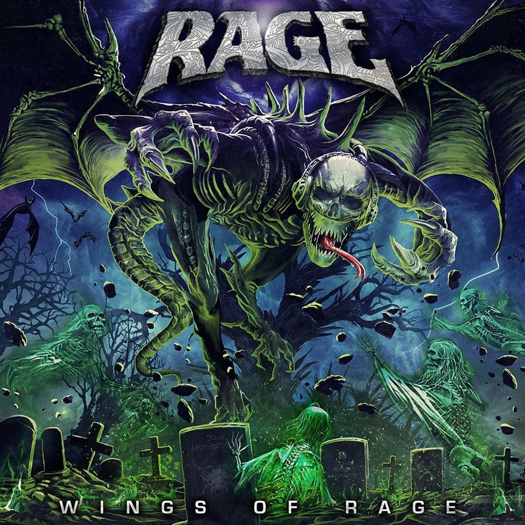 RAGE Wings Of Rage (2020) Heavy/Speed/Power Metal Allemagne A1kquu10