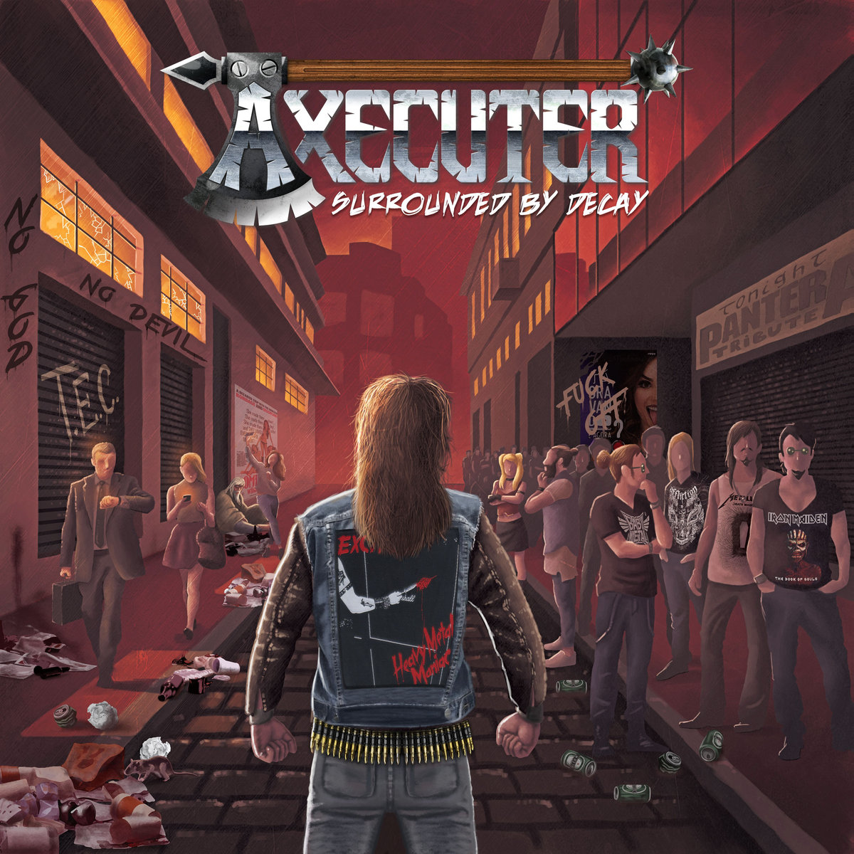AXECUTER Surrounded by Decay (2019) Heavy/Thrash Brésil A2003010