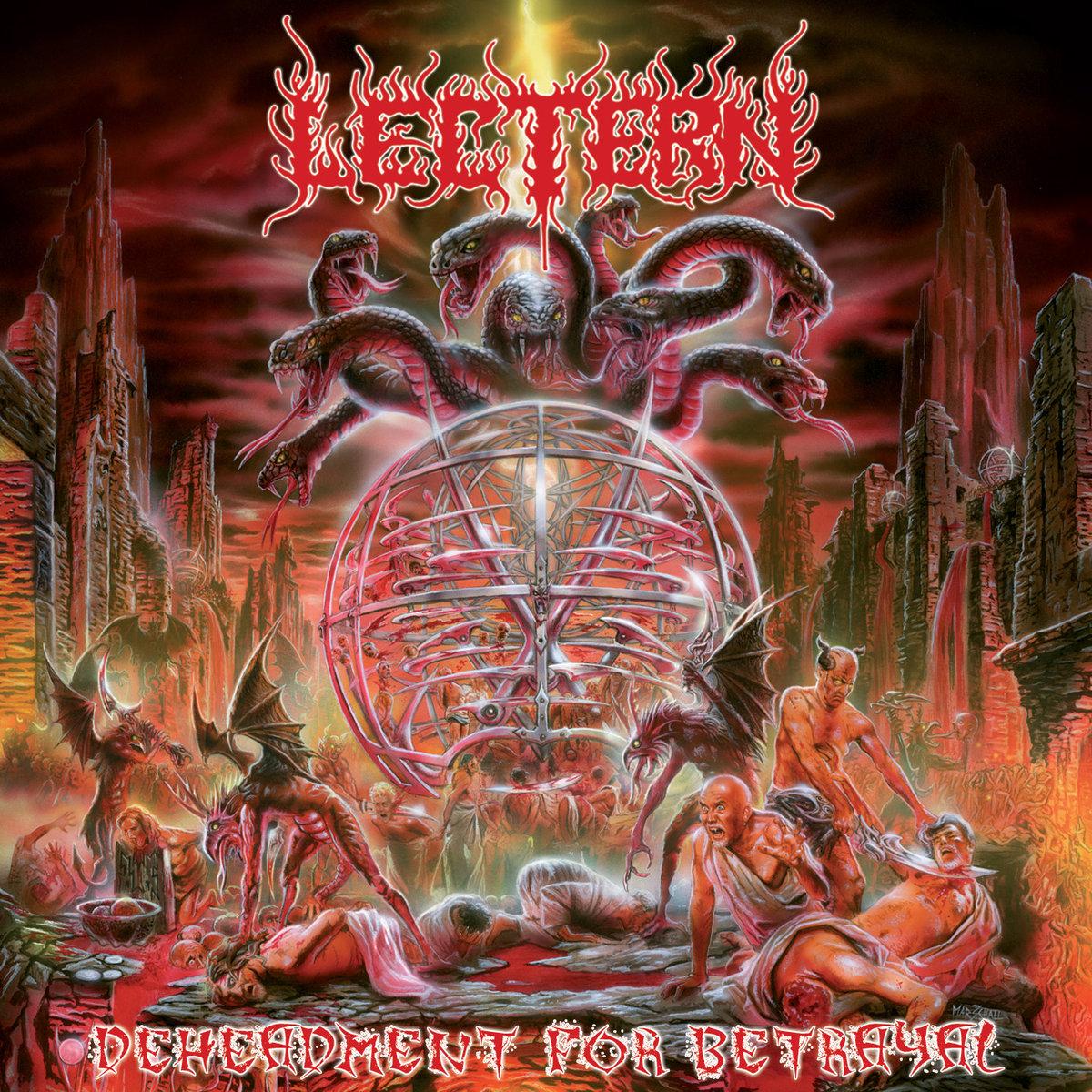 LECTERN Deheadment For Betrayal (2018) Death Metal Italie A2897610