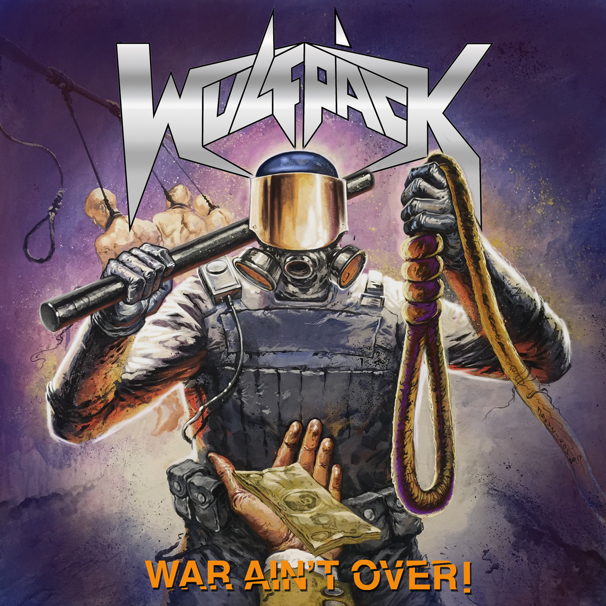 WULFPÄCK War Ain't Over (2018) Thrash ALLEMAGNE A3303910