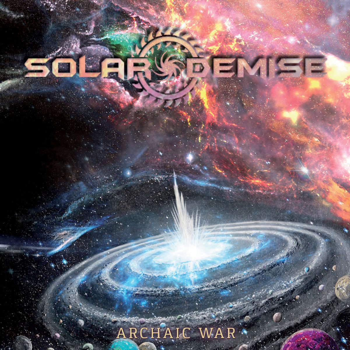 M.O.M Chronique : SOLAR DEMISE Archaic War (2018) Death Colombie A3876810