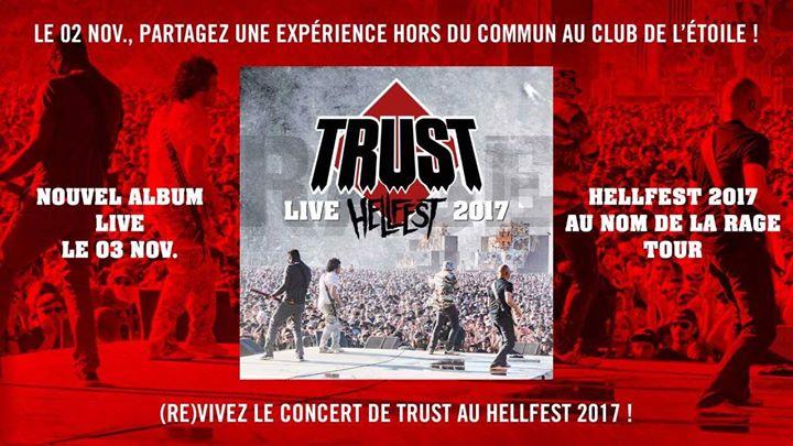 TRUST 'Live Hellfest 2017' (2017) CD+DVD A6e98110