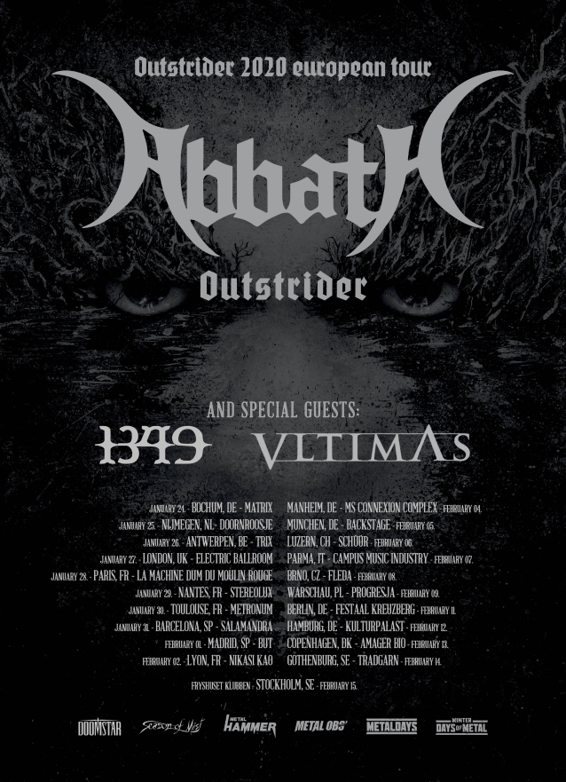 "ABBATH  ""Outstrider""  (Black Metal - JUIL 2019) Abbath10"