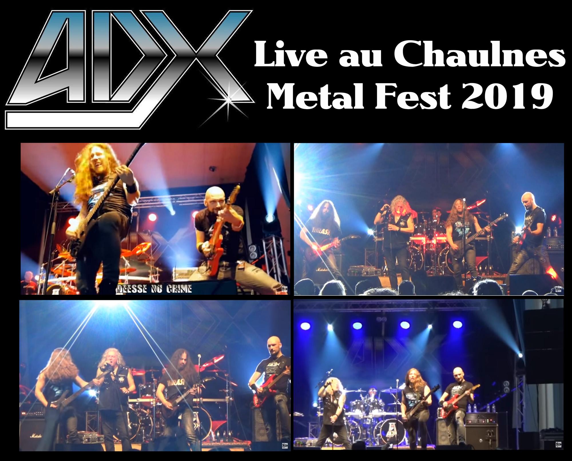 ADX Live au Chaulnes Metal Fest 2019 (Concert complet) Adx_li10