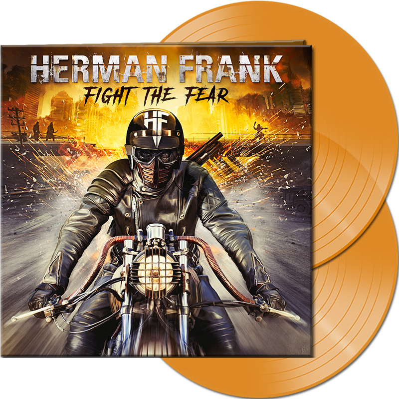 HERMAN FRANK Fight The Fear (2019) Heavy Metal ALLEMAGNE Afm_6810